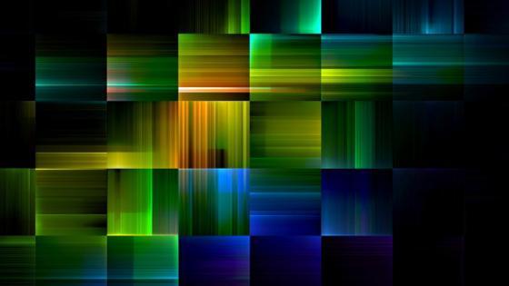 Neon Puzzle wallpaper