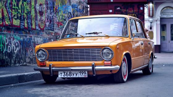 Lada - The Eastern European retro car wallpaper
