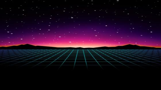 Grid to Nowhere wallpaper
