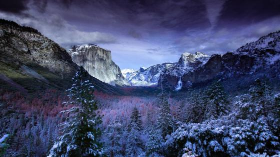 Yosemite, Tunnel View wallpaper