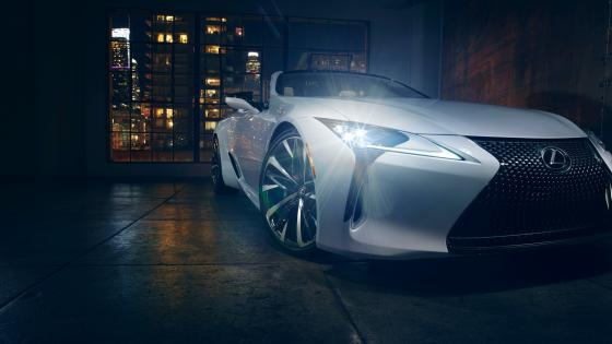 2019 Lexus LC wallpaper