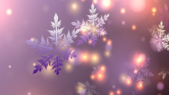 Magical Snow wallpaper