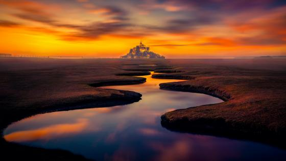 Mont Saint-Michel wallpaper