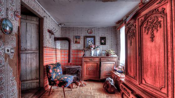Retro Interior wallpaper