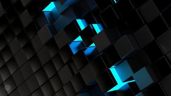 Blue Glow wallpaper