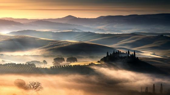 Podere Belvedere, Italy wallpaper