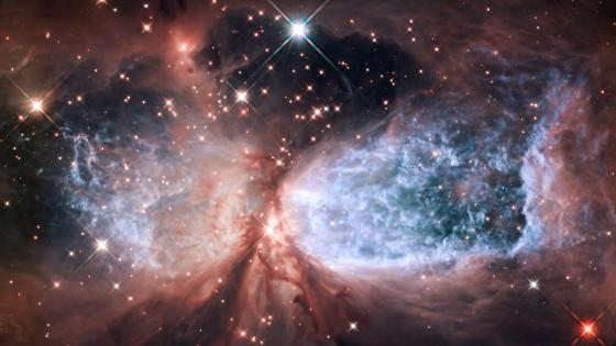 Star-Forming Region S106 wallpaper