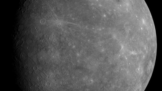 MESSENGER First Photo of Unseen Side of Mercury wallpaper