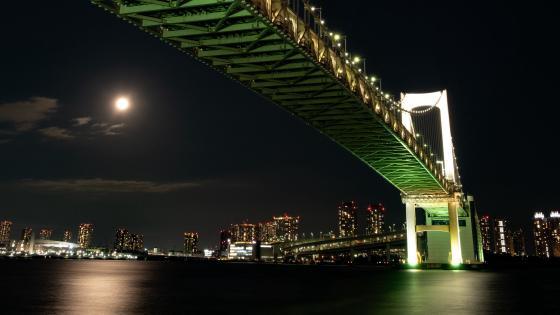 Rainbow Bridge (Tokyo) wallpaper