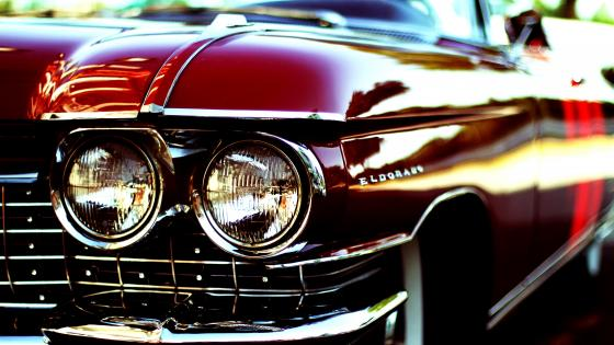 Cadillac Eldorado retro car wallpaper