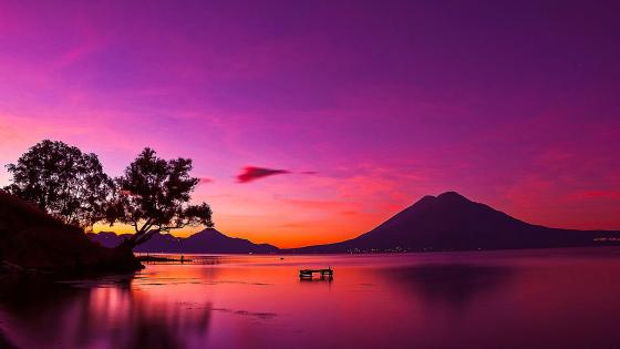 Lake Atitlán wallpaper