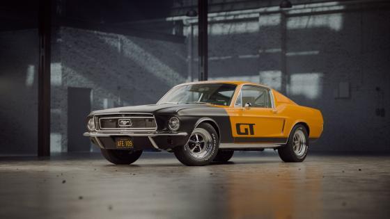 1968 Mustang GT wallpaper