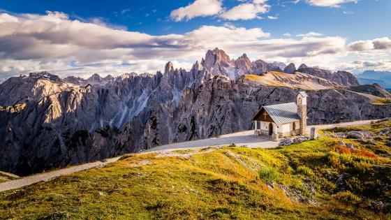 Cappella degli Alpini (Dolomites, Italy) wallpaper