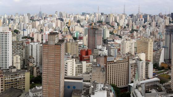 São Paulo Cityscape wallpaper