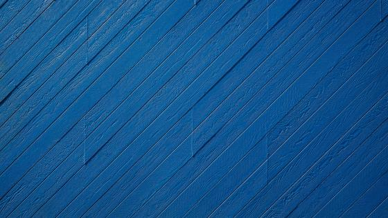 Blue wood planks wallpaper