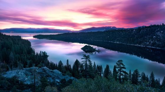 Fannette Island (Emerald Bay State Park) wallpaper