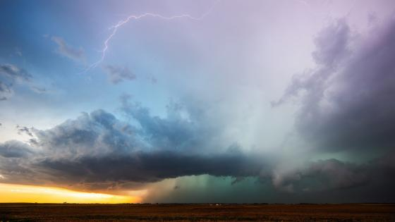 Oklahoma thunderstorm wallpaper