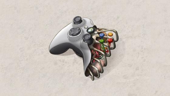 Xbox controller wallpaper