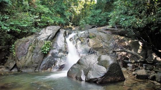 Waterfall in Khao Lak wallpaper
