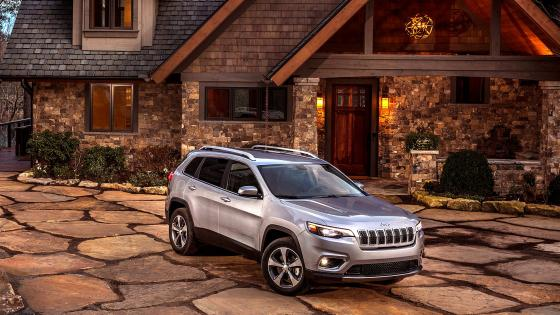 Jeep 2019 Cherokee Limited Grey wallpaper