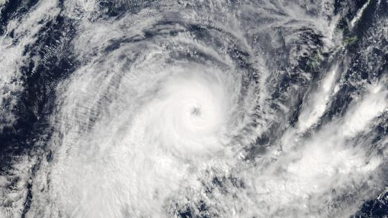 Tropical Cyclone Donna wallpaper