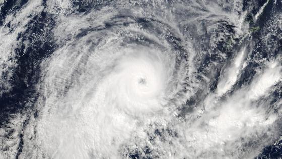Tropical Cyclone Donna wallpaper