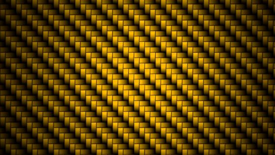 Yellow carbon fibers wallpaper