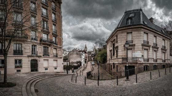 Place Dalida, Montmartre, Paris wallpaper