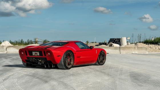 Red Ford GT wallpaper