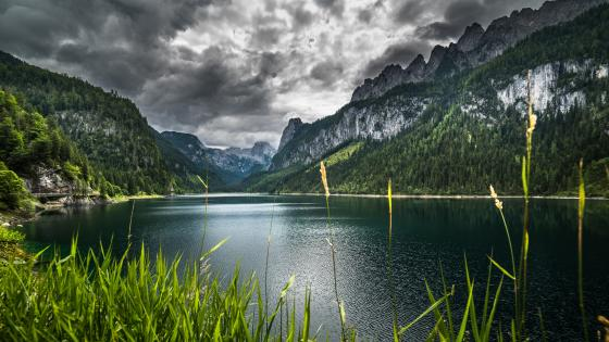 Vorderer Gosausee wallpaper