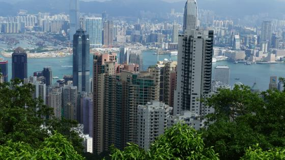 Hong Kong Cityscape wallpaper