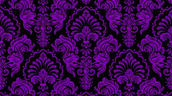 Purple classic pattern wallpaper