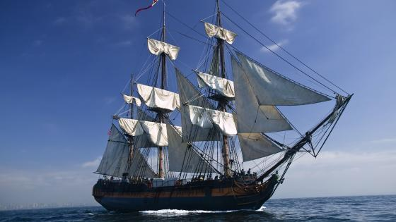 HMS Bounty wallpaper