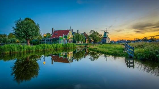 Zaanse Schans (Netherlands) wallpaper