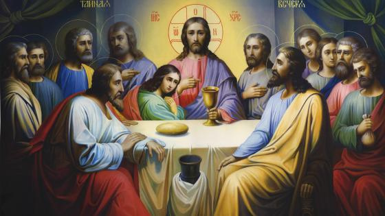 Jesus Last Supper wallpaper