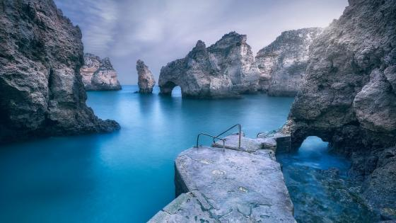 Ponta da Piedade (Portugal) wallpaper
