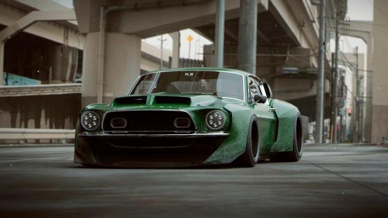 Ford Shelby Mustang GT500 wallpaper