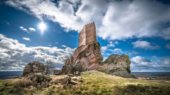 Castle of Zafra wallpaper