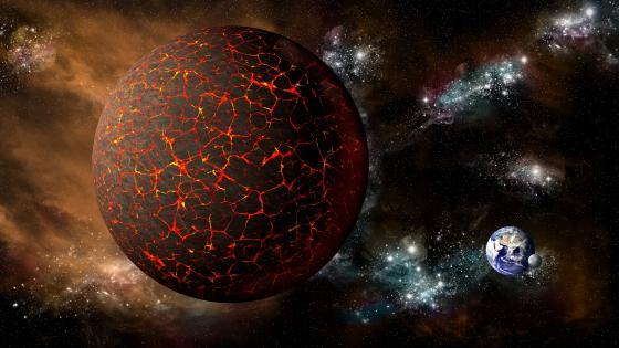 Planet Nibiru (Planet-X) wallpaper