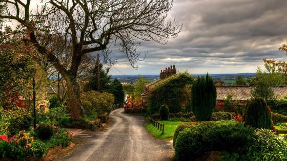 England countryside wallpaper