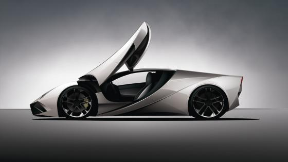 Lamborghini concept car wallpaper