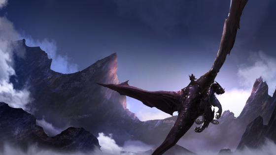 Dragon rider wallpaper