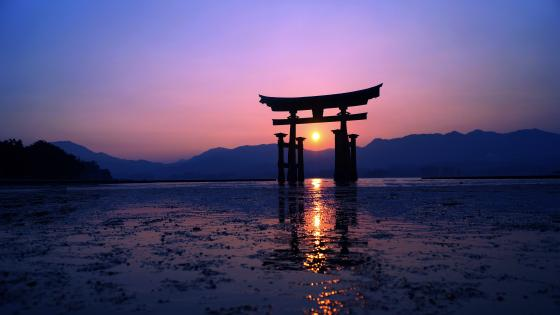 Itsukushima Shrine wallpaper