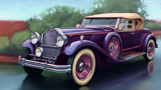 1929 Packard Deluxe Eight Sport Phaeton wallpaper