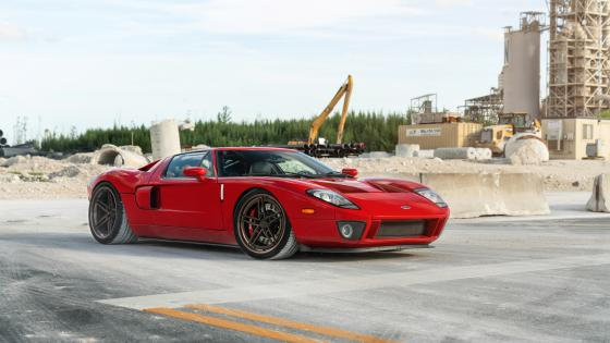 Ford GT coupe wallpaper