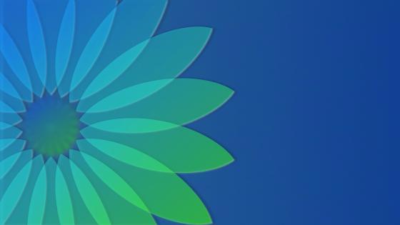 Light Blue-Petals wallpaper