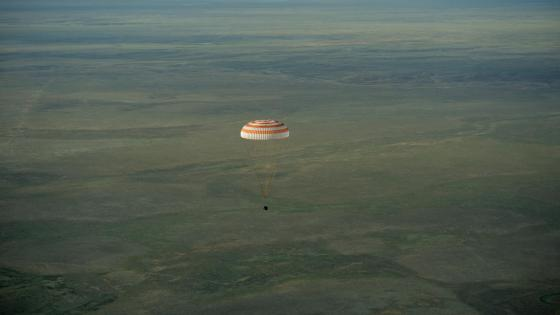 Expedition 43 Soyuz TMA-15M Landing wallpaper
