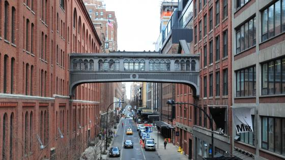 Pedway in New York City wallpaper