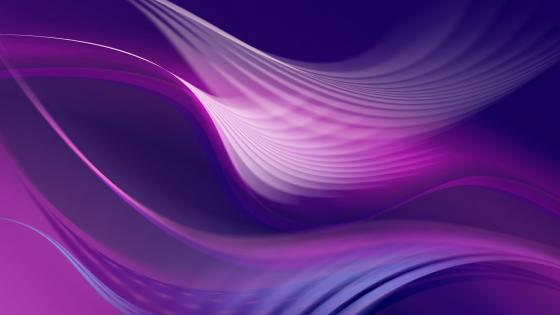 Purple waves wallpaper
