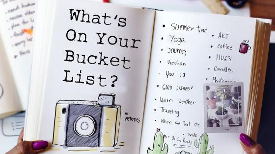 The Bucket List wallpaper